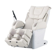 Массажное домашнее кресло FUJIIRYOKI EC-3800 бежевое/черное, фото 1