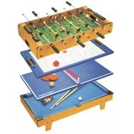 Игровой стол 4 в 1 PARTIDA ФУТБОЛ + АЭРОХОККЕЙ + ТЕННИС + БИЛЬЯРД 82, фото 1
