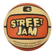 Баскетбольный мяч любительский - AND1 STREET JAM ORANGE/CREAM, фото 1