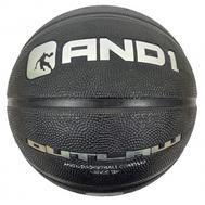 Баскетбольный уличный мяч - AND1 OUTLAW BLACK/RED, фото 1
