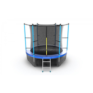 Батут EVO JUMP INTERNAL 8 FT BLUE + LOWER NET, фото 1