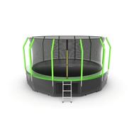Батут EVO JUMP COSMO 16FT GREEN + LOWER NET, фото 1