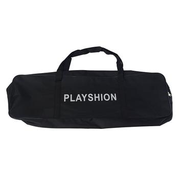 Самокат с двумя амортизаторами PLAYSHION FS-KS008BV (Черно-фиолетовый), фото 7