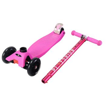 Самокат Макси PLAYSHION FS-MS002P (Розовый), фото 4